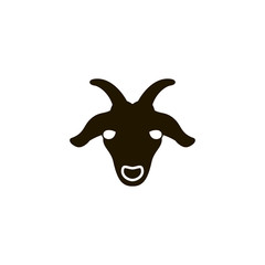 goat icon. sign design