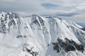 snowy Patria mountain