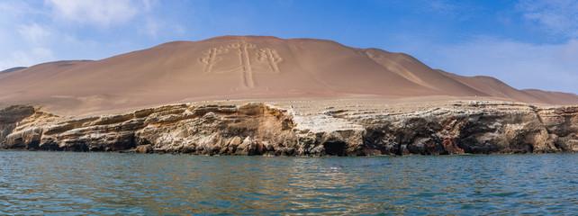 Bootstour vorbei an dem El Candelabro (Nazcalinien) zu den Ballestas Inseln