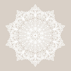 Flower pattern, ornament, mandala