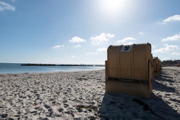 Strandkörbe an der Ostsee - Schleswig Holstein