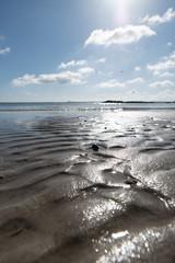 Niedrigwasser an der Ostsee