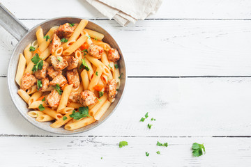 Pasta Penne with Chicken
