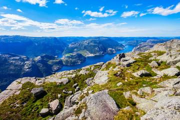 Lysefjord near Preikestolen, Norway