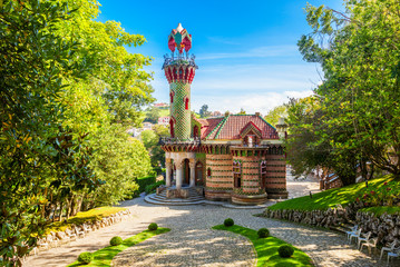 El Capricho in Comillas, Spain