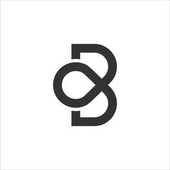 BO or OB Logo Icon