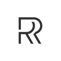R or RR Logo Icon