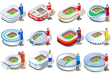 Russia 2018 World Cup Football Stadiums