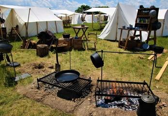 Civil War Campsite