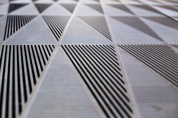 Graphic floor structure