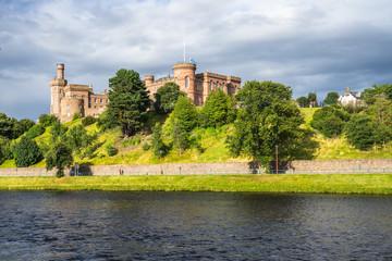 Invernes Castle and River Ness, Scotland, Britain