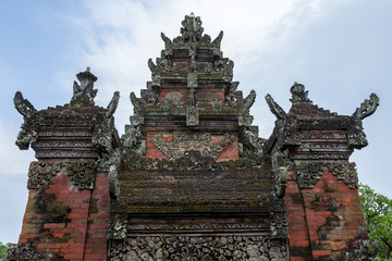 The Batuan temple in Bali