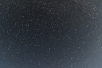 the night sky and traces the passage of the stars