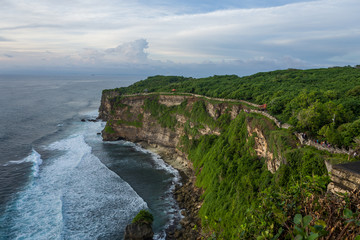 The Uluwatu temple area in Bali