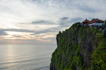 The Uluwatu temple in Bali