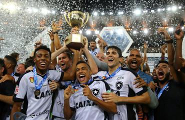 Football Soccer - Brazil's Vasco da Gama v Brazil's Botafogo - Carioca championship - Maracana stadium, Rio de Janeiro