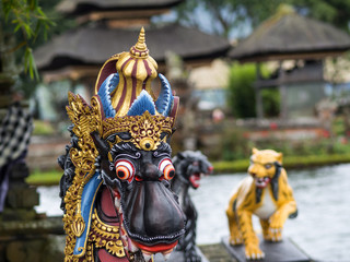 The Pura Ulun Danu Beratan Bedugul Temple in Bali