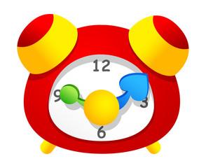 Vector icon clock
