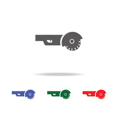 angle grinder icon. Elements of construction tools multi colored icons. Premium quality graphic design icon. Simple icon for websites, web design, mobile app, info graphics