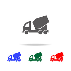 concrete mixer icon. Elements of construction tools multi colored icons. Premium quality graphic design icon. Simple icon for websites, web design, mobile app, info graphics