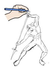 Mutant rat fighter