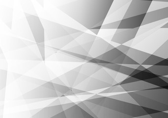 Abstract geometric white and gray color, Modern design background with copy space, Vector illustration eps10
