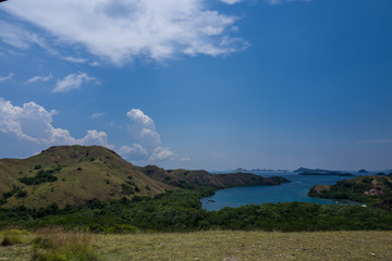 Rinca Island in Indonesia