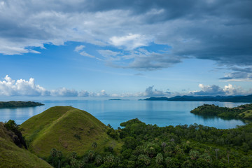 View on the Labuan Bajo Sea