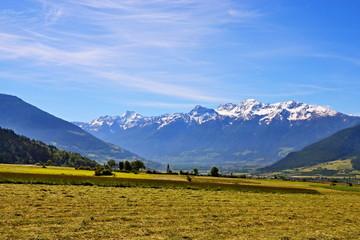 Italian Alps-views of the Stelvio