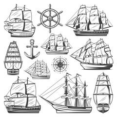 Vintage Big Ships Collection