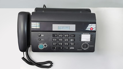 photo of fax machine