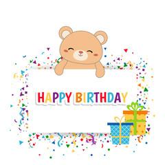 Cute bear illustration