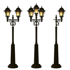 street lamps collection,lantern set