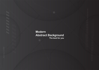 Black background with copy space for text. Template design for cover, brochure, web banner and magazine.