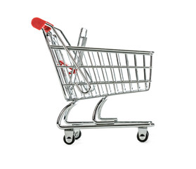 Shopping Cart Trolly isolated on White Background