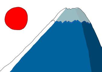 富士山とご来光