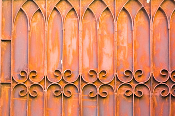 rust texture and pattern for design and decoration isolate on background close up