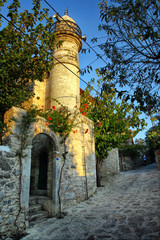 old datca mosque in Datca, Mugla, Turkey