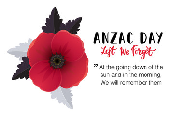 Anzac day card