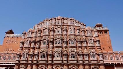 Palast der Winde, Hawa Mahal in Jaipur, Rajasthan