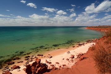 Foto op Canvas Australië Bottle Bay. François Peron national park. Denham. Shark Bay. Western Australia