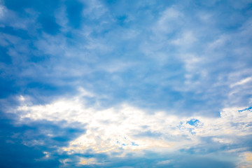 blu sky wiht cloud closeup