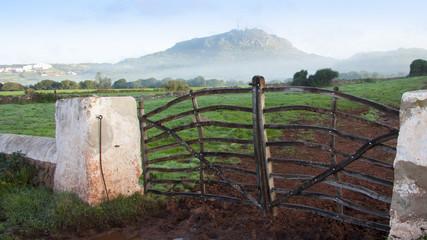Mañana de niebla en Monte Toro Es Mercadal