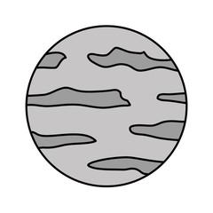 full moon isolated icon vector illustration design
