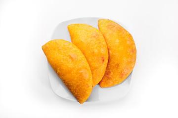 South American meal, empanadas