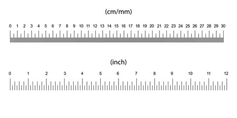 ruler size indicators