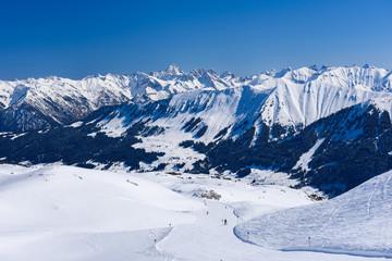 alps winter sport Hoher Ifen Austria