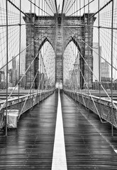 Foto auf AluDibond Brooklyn Bridge Brooklyn bridge of New York City