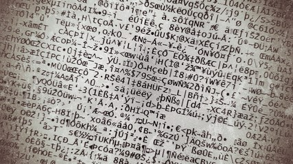 coded, encryption