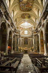 Church of the saints Filippo and Giacomo in Naples, Italy